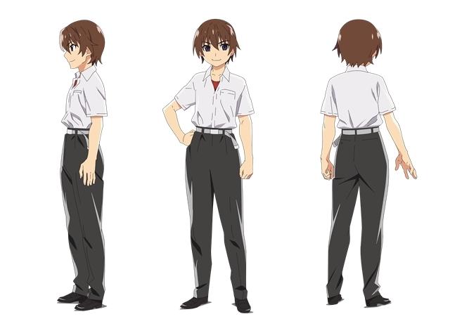 7月放送のTVアニメ『ひぐらしのなく頃に』を記念して、2006年放送の第1期1~13話が再放送! あわせて前原圭一をはじめとしたキャラクター設定画が到着!-2