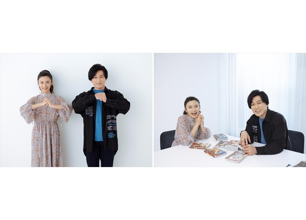 『キングダム』森田成一×小島瑠璃子の初対談が実現!