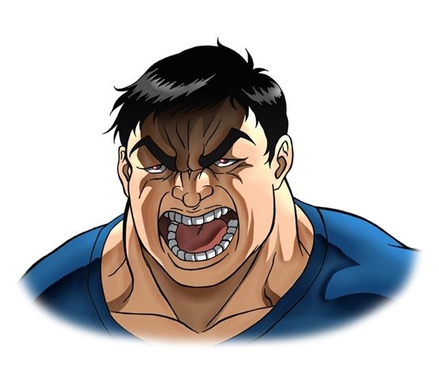 アニメ『バキ』大擂台賽編に追加声優として、緒方賢一さん、幸野善之さん、安元洋貴さんら12名が出演決定! キャラクタービジュアルも公開-6