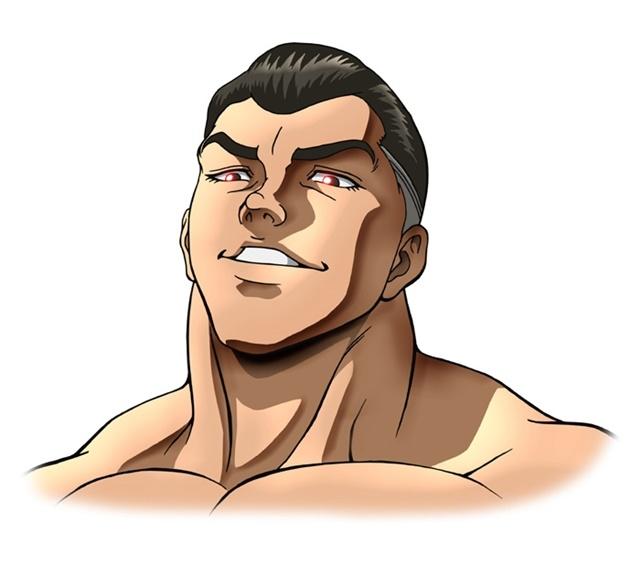 アニメ『バキ』大擂台賽編に追加声優として、緒方賢一さん、幸野善之さん、安元洋貴さんら12名が出演決定! キャラクタービジュアルも公開-18