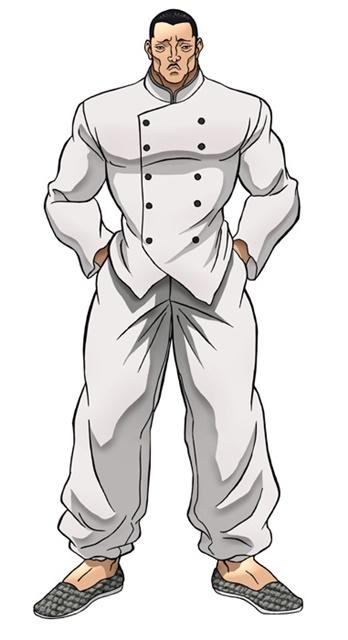アニメ『バキ』大擂台賽編に追加声優として、緒方賢一さん、幸野善之さん、安元洋貴さんら12名が出演決定! キャラクタービジュアルも公開-21