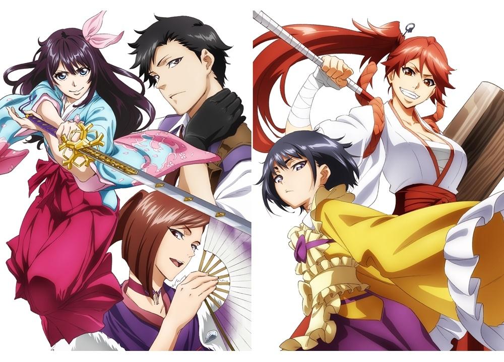 『新サクラ大戦 』BD&DVD第1巻が5月20日発売決定!