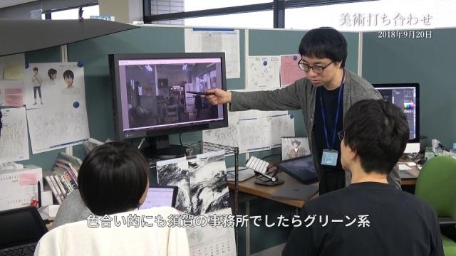 アニメ映画『天気の子』Blu-ray コレクターズ・エディション特典映像であるメイキングドキュメンタリーの一部が公開!制作現場、レコーディングなど制作の裏側の様子が収録-4