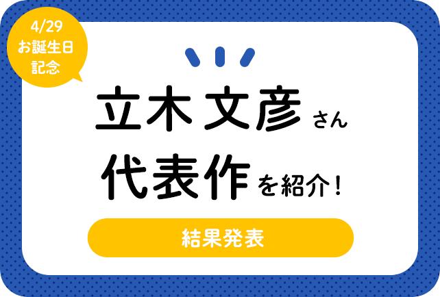 声優・立木文彦さん、アニメキャラクター代表作まとめ(2020年版)