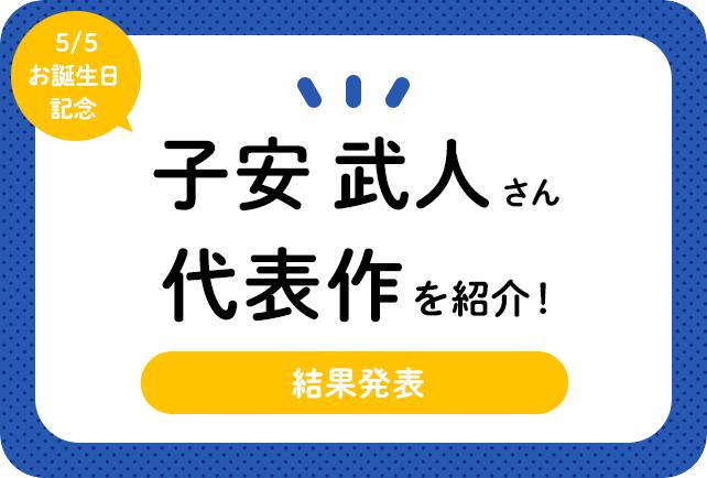 声優・子安武人さん、アニメキャラクター代表作まとめ(2020年版)