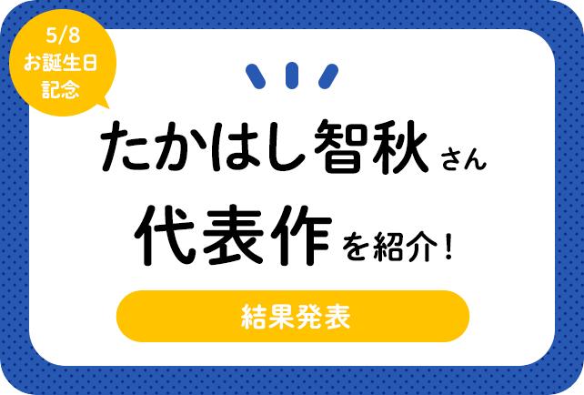 声優・たかはし智秋さん、アニメキャラクター代表作まとめ(2020年版)