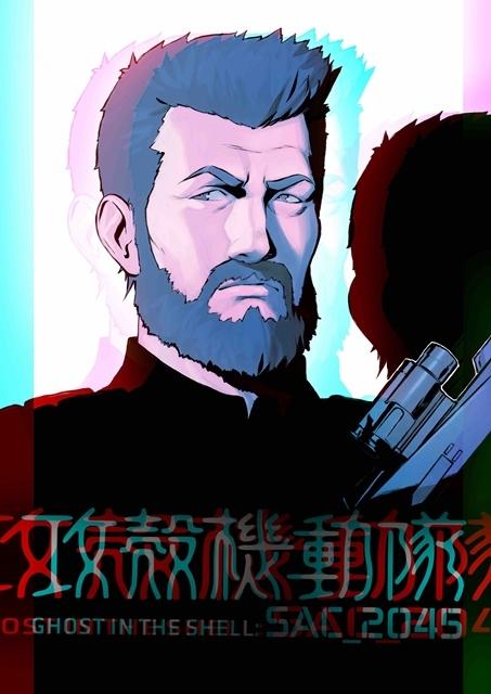 『攻殻機動隊 SAC_2045』イリヤ・クブシノブ氏のキャラクターアート14点解禁! 敵か味方か……謎の少年の姿も-6