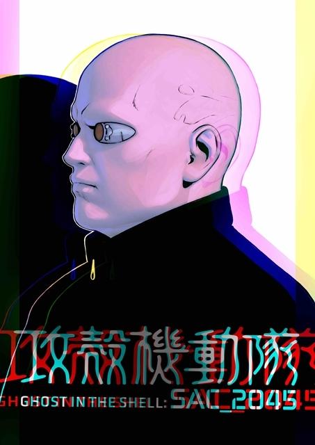 『攻殻機動隊 SAC_2045』イリヤ・クブシノブ氏のキャラクターアート14点解禁! 敵か味方か……謎の少年の姿も-9