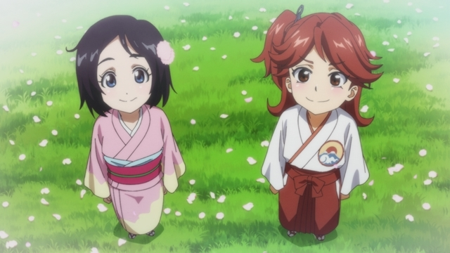 新サクラ大戦第4話友情満開!千年桜