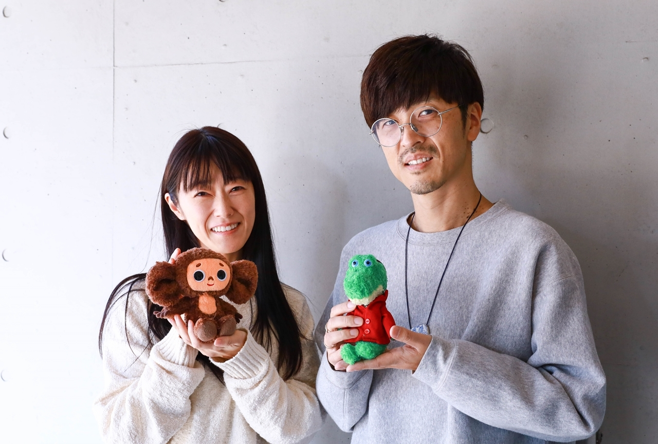釘宮理恵&櫻井孝宏が『チェブラーシカ-ともだち、みつけた-』に出演