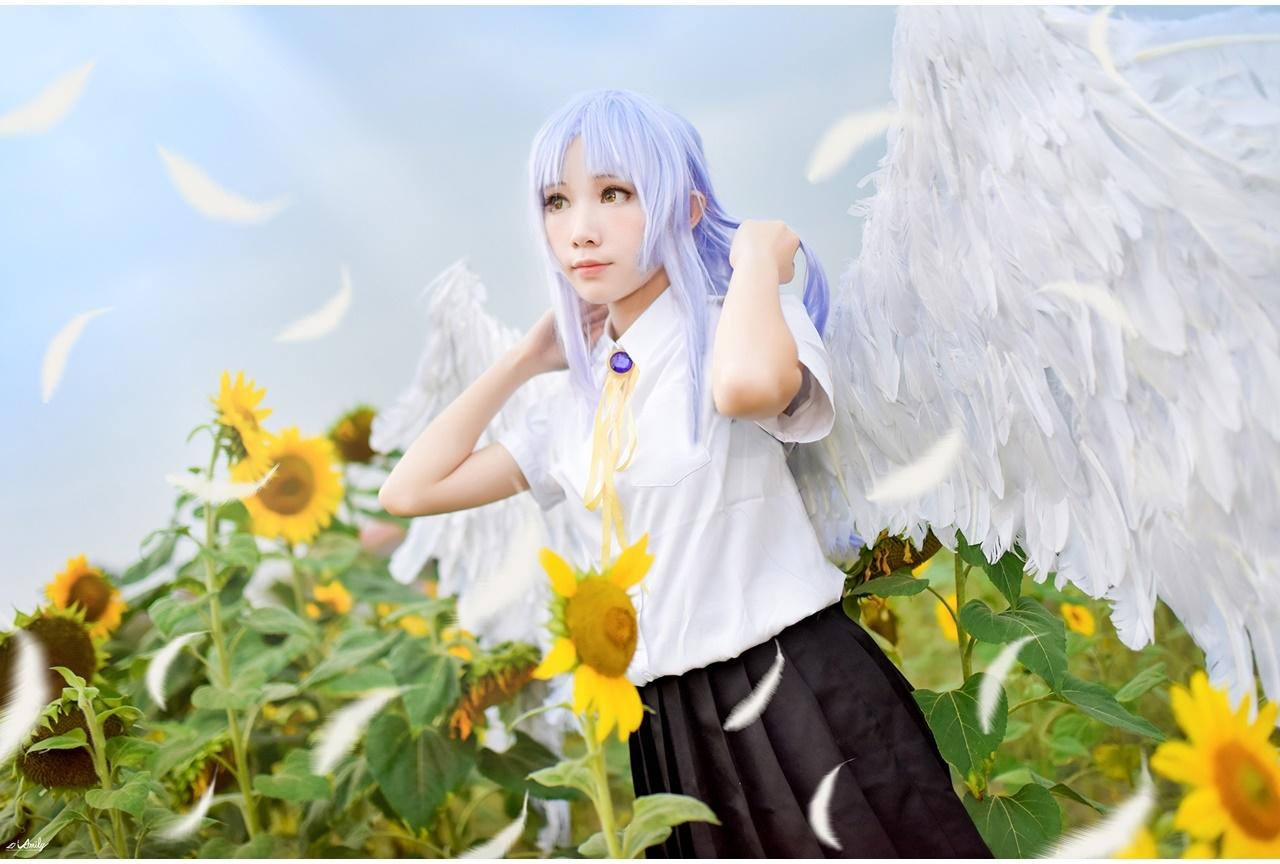 アニメ『Angel Beats!』天使・立華かなでのコスプレ特集