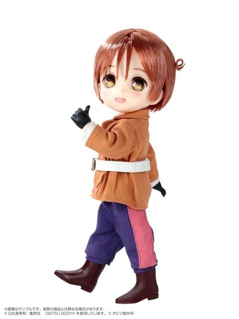 『ヘタリアWorld☆Stars』より、主人公「イタリア」の新ドールフィギュアが登場! ポケットに入る小さくて可愛いサイズに注目!【今なら12%OFF!】