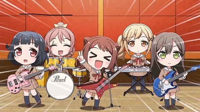ミニアニメ『BanG Dream! ガルパ☆ピコ ~大盛り~』が、生放送番組「バンドリ!TV LIVE 2020」内にて放送スタート! 場面カットも公開