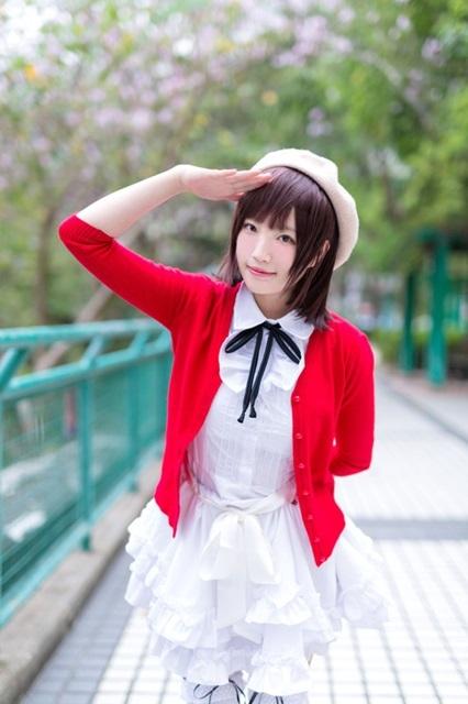 アニメ『冴えない彼女の育てかた』より、メインヒロイン・加藤恵のコスプレ特集!制服から水着、バニーまでさまざまな姿をお届け!