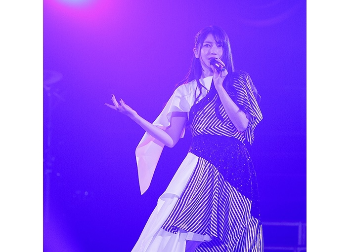 """「雨宮天ライブ2020 """"The Clearest SKY""""」ライブBD 7/8発売"""