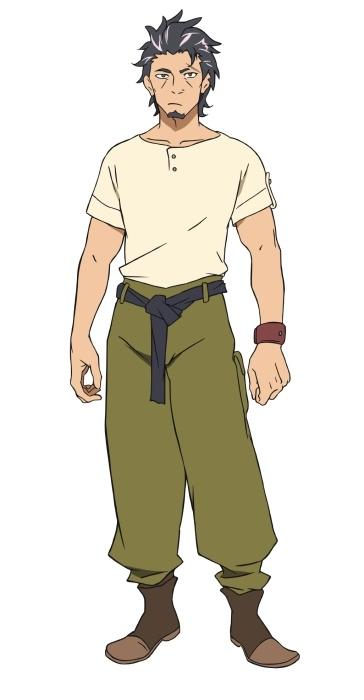 TVアニメ『デカダンス』キービジュアル&スタッフ&声優情報などが解禁! カブラギを小西克幸さん、ナツメを楠木ともりさんが担当