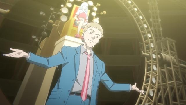 春アニメ『LISTENERS リスナーズ』第9話「フリーダム」の先行カット到着! エコヲは、ミュウを止めるために「ウォッチタワー」への潜入を決意