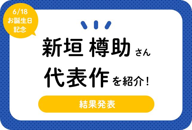 声優・新垣樽助さん、アニメキャラクター代表作まとめ(2020年版)
