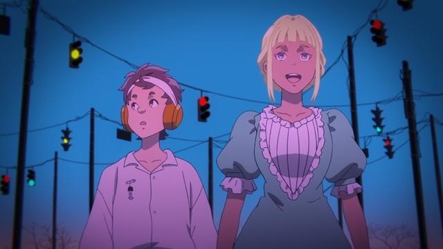 春アニメ『LISTENERS リスナーズ』10話「クロスロード・ブルース」の先行カット到着! 上田麗奈さん演じるド天然の美少女ジャニス登場