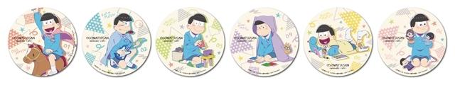 TVアニメ『おそ松さん』のコラボカフェが、アニメイトカフェ池袋4号店で7月15日より開催! テーマは「幼稚園」、店内では幼稚園児に扮した6つ子がみなさんをお出迎え-8