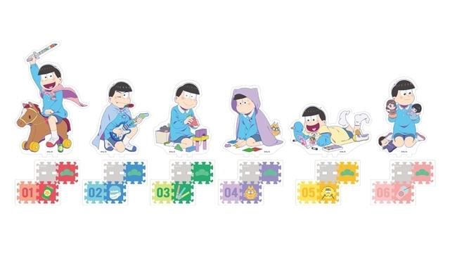 TVアニメ『おそ松さん』のコラボカフェが、アニメイトカフェ池袋4号店で7月15日より開催! テーマは「幼稚園」、店内では幼稚園児に扮した6つ子がみなさんをお出迎え-9