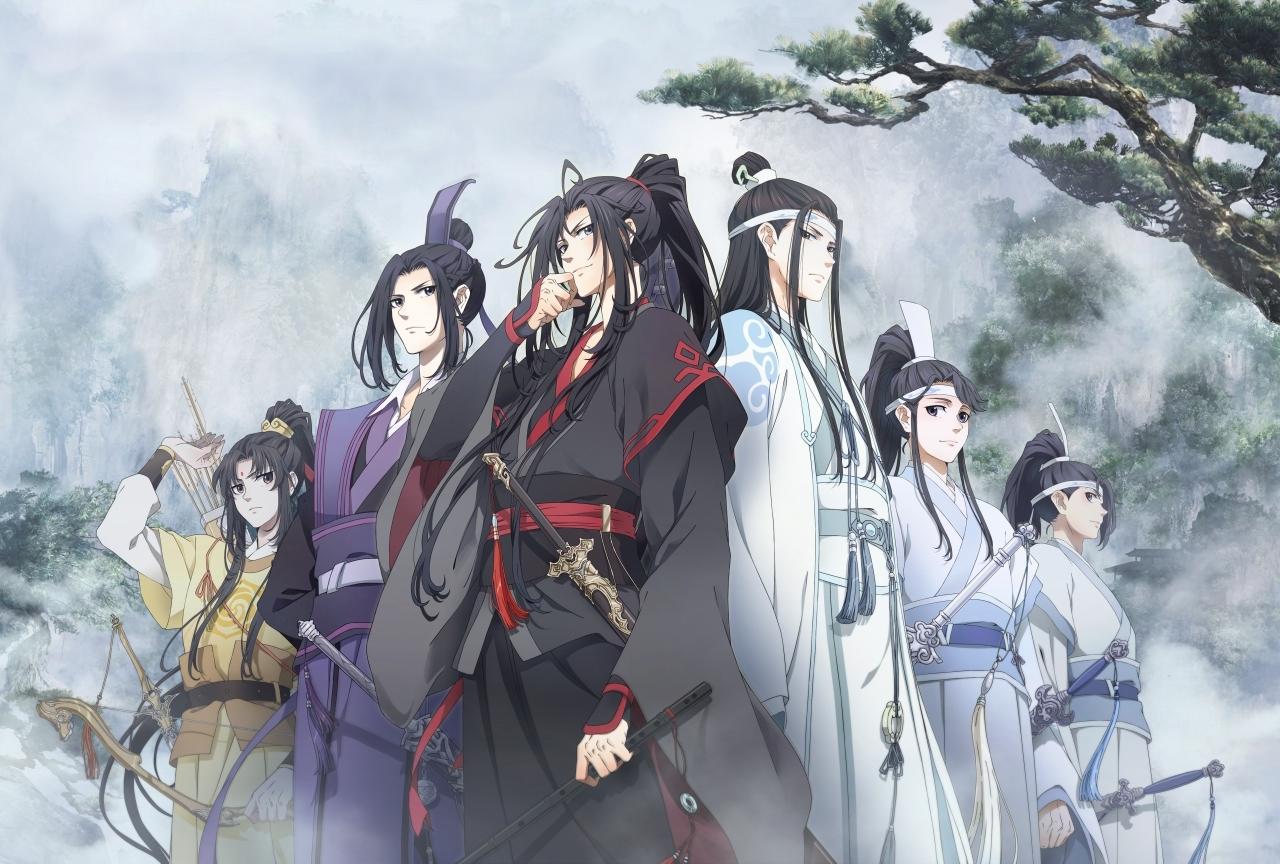 中国で人気のアニメシリーズ『魔道祖師』日本版の制作が決定!