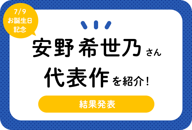 声優・安野希世乃さん、アニメキャラクター代表作まとめ(2020年版)
