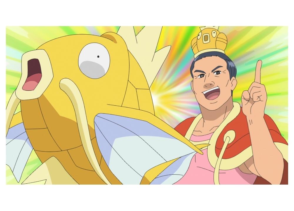 『アニポケ』オードリーの春日俊彰が、大人気マッスルトレーナー・カスキング役として出演決定!