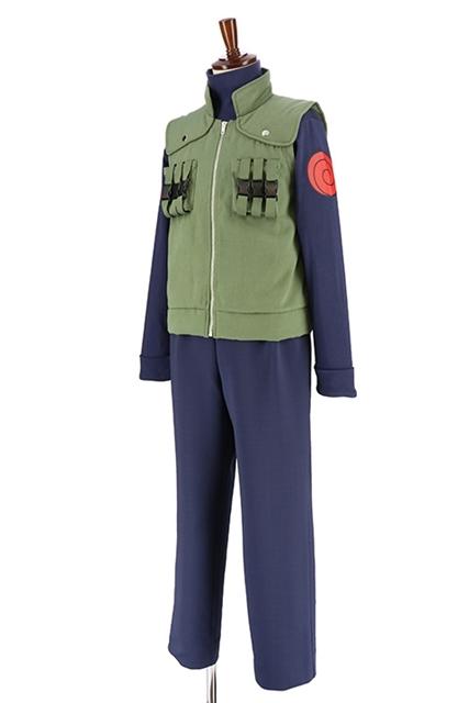 『NARUTO-ナルト- 疾風伝』木ノ葉衣装セット(はたけカカシVer.)がACOS(アコス)より発売決定! 背中のうずまき模様は立体的な仕上がり