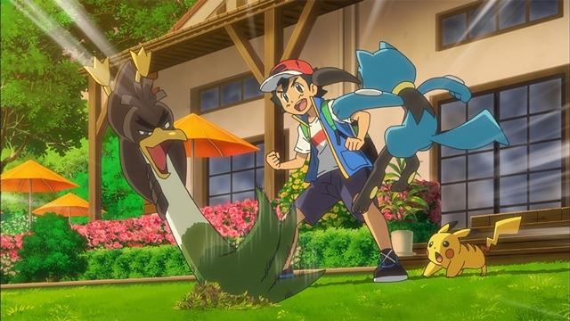 TVアニメ『ポケットモンスター』ついにみずとかげポケモン・メッソン登場! ゲーム『ポケットモンスター ソード・シールド』で最初のパートナーにすることができる3匹のうちの1匹がアニメに-2