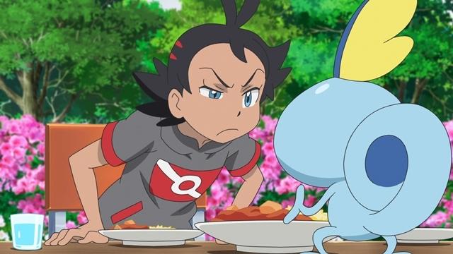 TVアニメ『ポケットモンスター』ついにみずとかげポケモン・メッソン登場! ゲーム『ポケットモンスター ソード・シールド』で最初のパートナーにすることができる3匹のうちの1匹がアニメに-4
