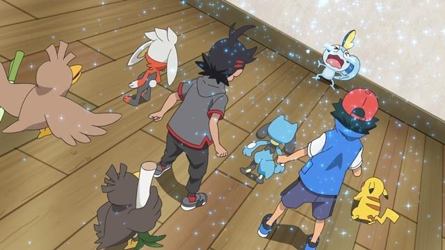 TVアニメ『ポケットモンスター』ついにみずとかげポケモン・メッソン登場! ゲーム『ポケットモンスター ソード・シールド』で最初のパートナーにすることができる3匹のうちの1匹がアニメに-6