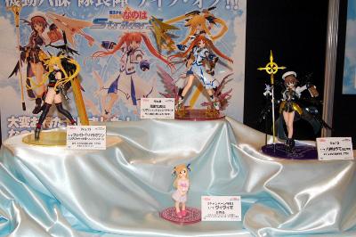 モエコレ+ 『魔法少女リリカルなのはStrikerS』展示 (C)なのはStrikerS PROJECT (C)NANOHA StrikerS