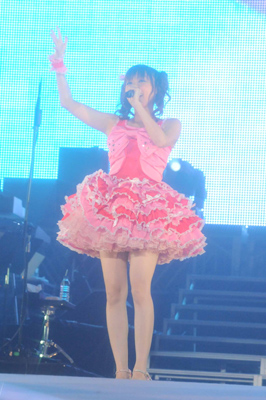 田村ゆかり (C)Animelo Summer Live 2009/DWANGO