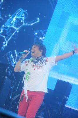 影山ヒロノブ (C)Animelo Summer Live 2009/DWANGO
