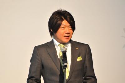 オーイズミ代表取締役副社長、大泉秀治氏