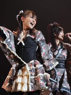 『アイドルマスター』の4人は、この日のために用意したという衣装で魅せた。