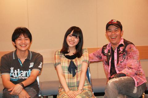 左から下野紘さん、佐藤聡美さん、神奈延年さん 出演の下野紘さん、佐藤聡美さん、神奈延年さんインタ