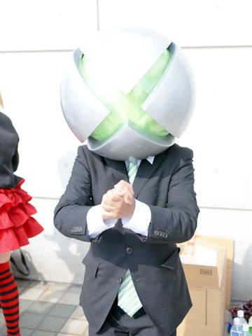 CN:知人さん<br>キャラクター:三六丸(『Xbox 360』がモチーフ)<br>「Xboxへの愛の結果のコスプレです」
