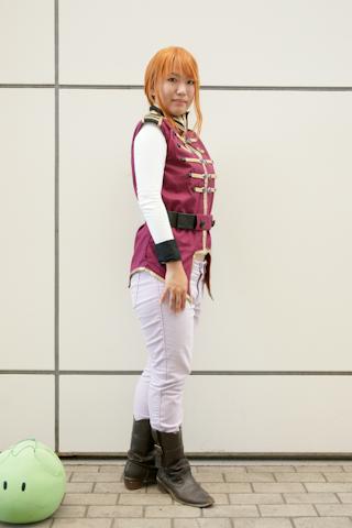 CN:セイラ・マスさん<br />キャラクター:マリーダ・クルス(『機動戦士ガンダムUC』)<br />「UC合わせ、楽しいです」