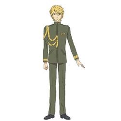 <b>総角 景(あげまき けい)(CV:櫻井孝宏)</b><br />陸軍少尉。容姿は良く、上品で正義感が強い。由緒ある軍人家系であり裕福な家庭に育つ。芳野葛 利劔(よしのかずら りけん)とは士官学校の同期。