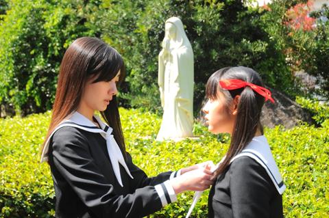 『マリア様がみてる』が実写映画化!公開に先駆けて小笠原祥子を演じた波瑠さんにインタビュー――「実写版、自信を持っておすすめします!」-8