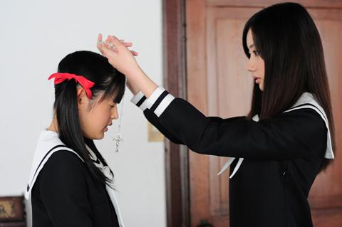 『マリア様がみてる』が実写映画化!公開に先駆けて小笠原祥子を演じた波瑠さんにインタビュー――「実写版、自信を持っておすすめします!」-9