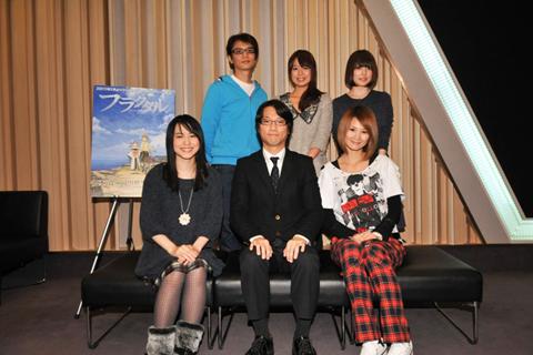 TVアニメ『フラクタル』アフレコ後の合同会見レポート