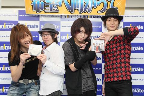 『素顔の少年』CD発売記念イベントツアーin横浜をレポート!