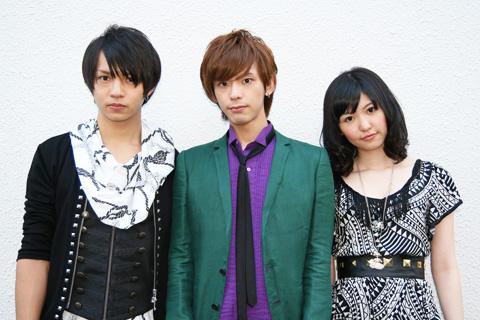 The Sketchbook 左から渡邊悠、多田宏、小原莉子
