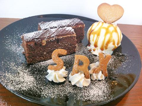 「ufotable cafe」と『SRX スカーレッドライダーゼクス』コラボ企画のメニュー