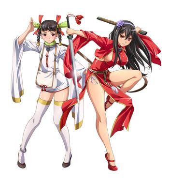 右:ターニャン(CV:戸松遥)