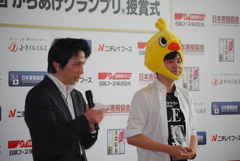 声優、下野紘さんが2012年ベストカラアゲニストに決定!