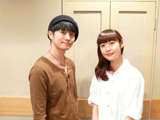 (左から)福山潤さん、能登麻美子さん
